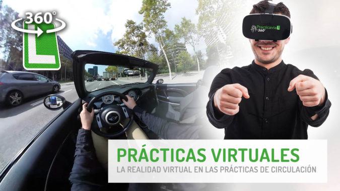 Realidad virtual para aprender a conducir.