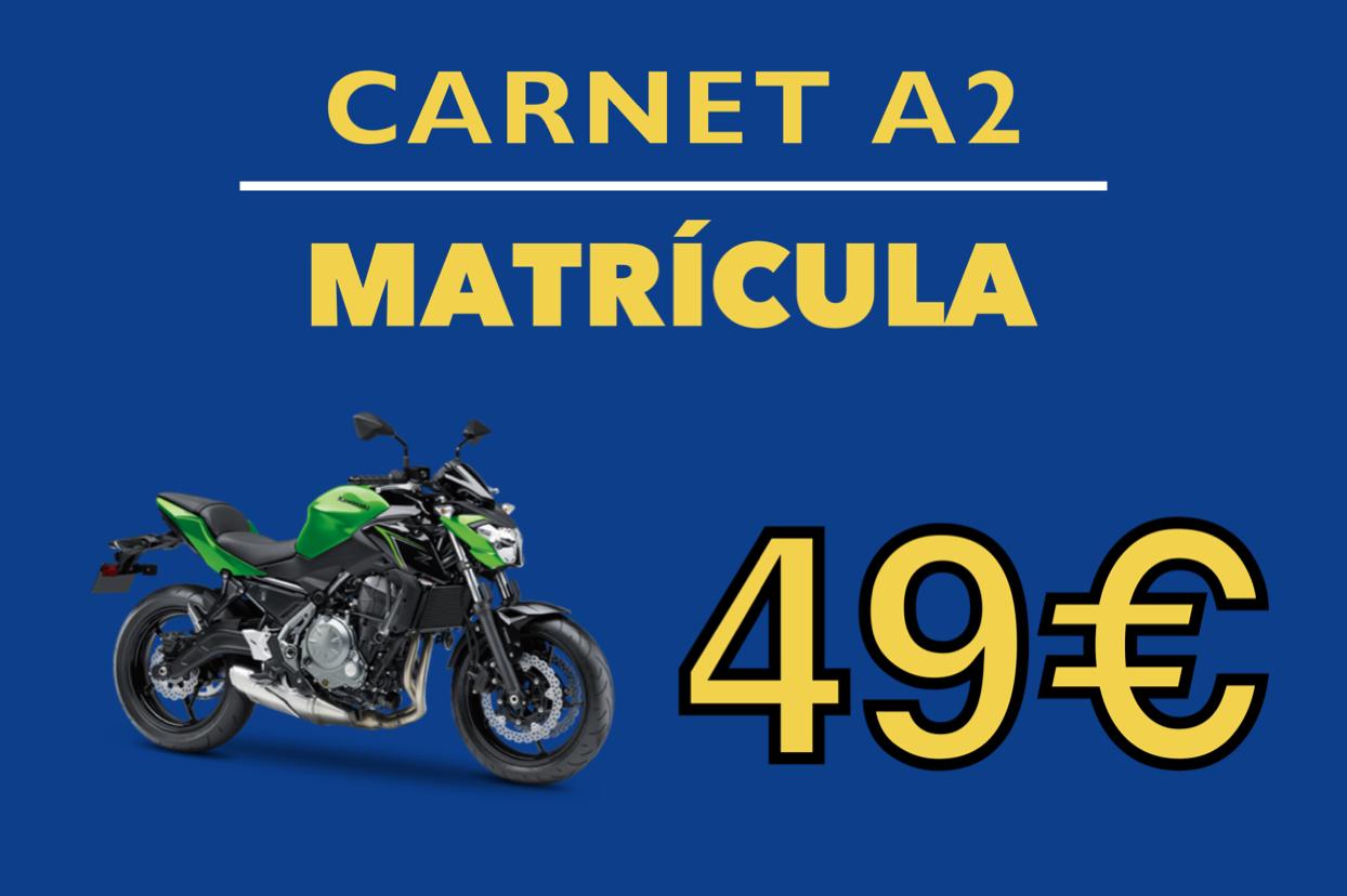 moto verde con precio de oferta